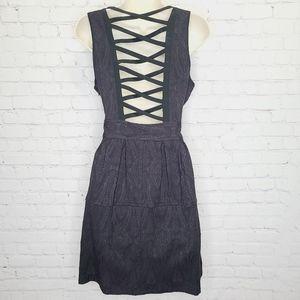 Nanette Lepore Crisscross Open Back Dress